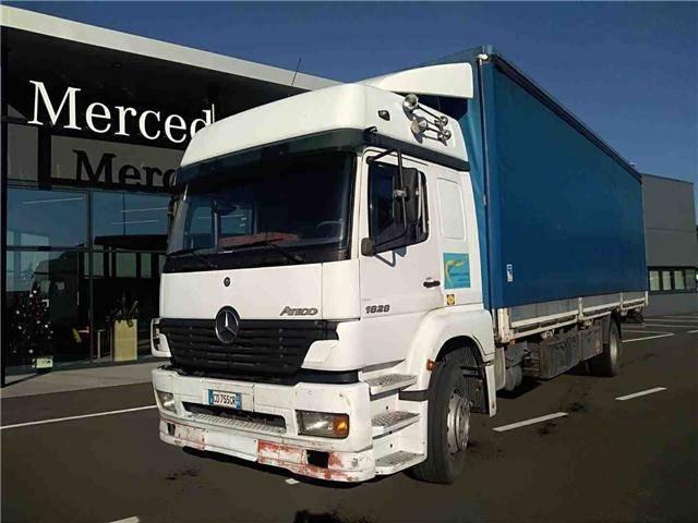 Mercedes-Benz ATEGO 1828L - 2002