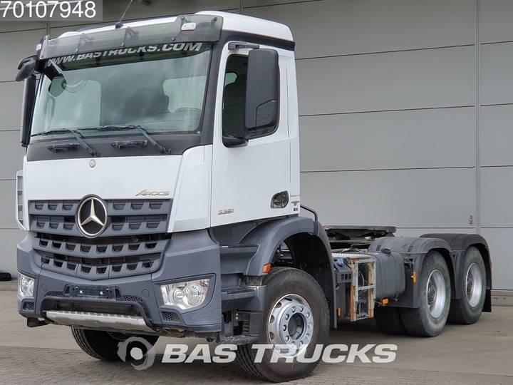 Mercedes-Benz Arocs 3351 S 6X4 Manual Big-Axle Steelsuspension Euro 6 - 2016