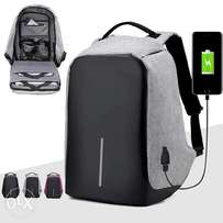 Anti theft Back Pack with USB