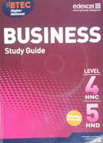 BTEC Business study guide
