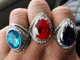 Dress rings avaiable in different sizes R100 each