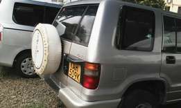 Isuzu Trooper, KAH, year 1996, manual diesel.