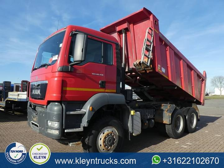 MAN 40.430 TGS 6x6 full steel - 2013