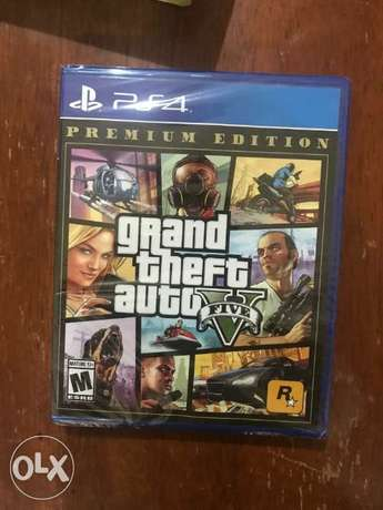 GTA 5 for ps4 sealed