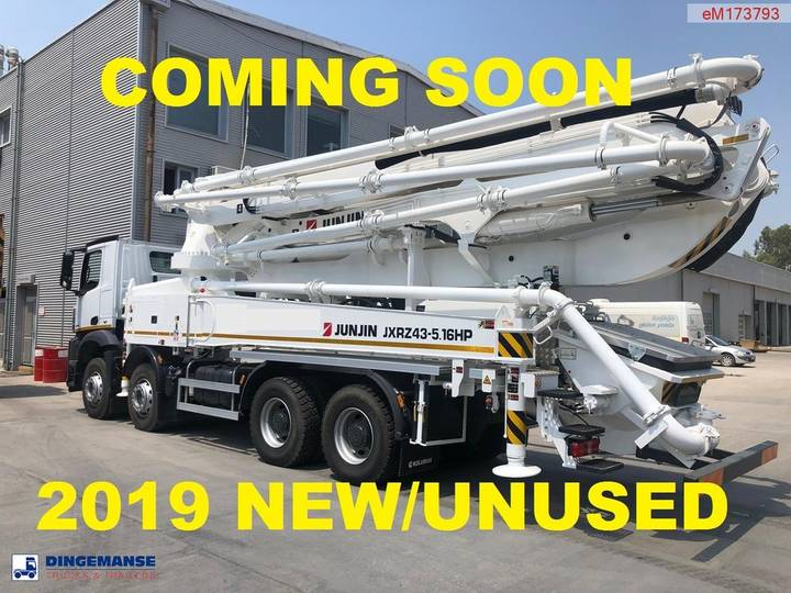 Mercedes-Benz Arocs 4142 8x4 E6 JunJin JXRZ43-5.16HP concrete pump NEW/...