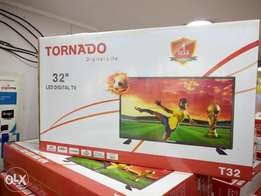 Brand new sealed Tornado 32inch digital LED tv
