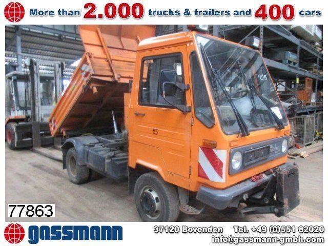 Multicar m 26 4x4, 3-seiten kipper - 1999