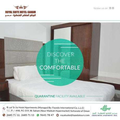 Monthly well fully furniture single room apartment Avalilable Saham