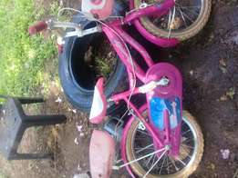Strawberry pink princess girls bicycle for sale