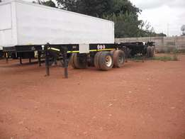 Closed body trailer for sale needs a bit of touch ups