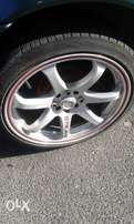 17 rims with new tyres