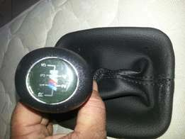 Bmw e30 m gearknob with gear pouch