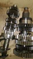 Yamaha R1 2007/8 (2C8) Complete gearbox, shift forks, selector drum
