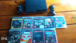 Ps3 ,2 remotes and 8 games