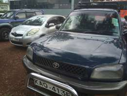 Toyota rav4 kaq manual petrol 5speed asking 550k