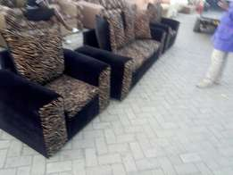 Five seater with sweed material