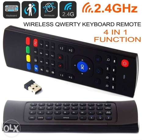 All in one Air fly Mouse keyboard Remote