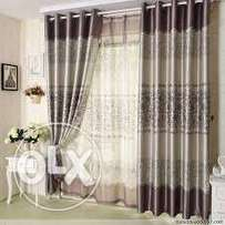 Danja Interiors - Quality Curtains Kes.1,000 per meter stitched.