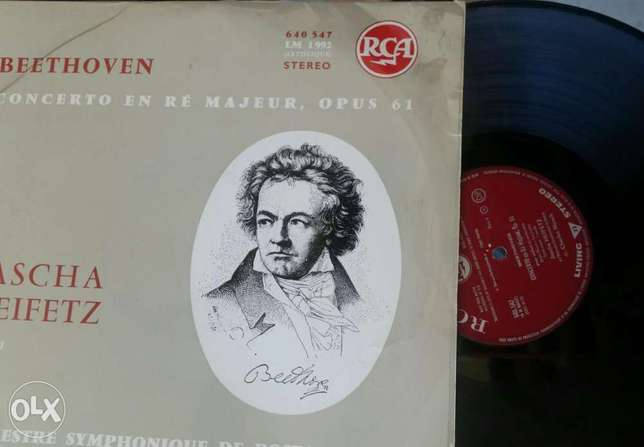 Beethoven concerto majeur, opus 61/VinylRecord