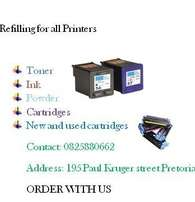 You can refill toner cartridges 2 to 3 times and still get great print