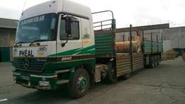 Actros 2540 Mp1 2004model very clean accident free well maintained