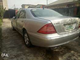 Clean 2006 benz s500 up for urgent sale