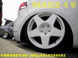 Mags 4 u wheel & tyre experts.. tarmacs 5/100 white or grey