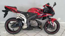 Honda CBR 600 RR Red & Black