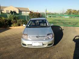 2006 toyota corolla 160i gls for sale price 50000.