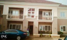 A three bedroom service apartment at new site FHA,lugbe I