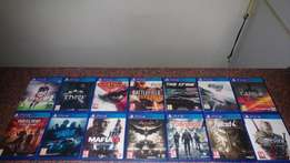 PS4 Games in Boxes Huge Variety