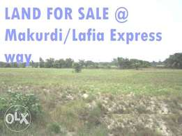 For Sale: Land Of 5,131.29sqm (Almost 8 Plots) Along Makurdi Expres RD