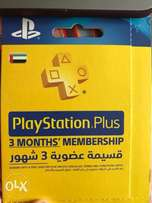ps4 Playstation plus card