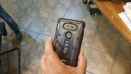 LG v20 64gb charcoal new with UAG cover worth R599