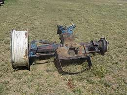 Fiat 880 4x4 Front Diff