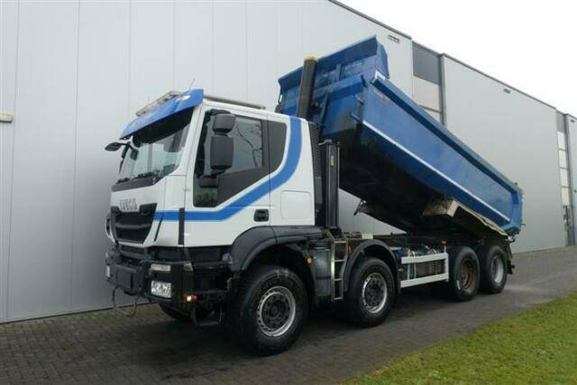 Iveco TRAKKER 500 8X4 FULL STEEL HUB REDUCTION EURO 6 - 2014