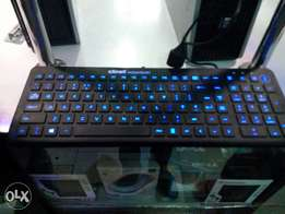 USB Desktop Keyboards With Back-lit Feature also Water Resistant