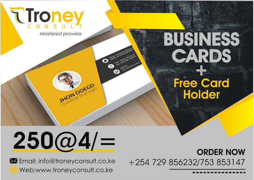Business cards karen services nairobi olx business cards 0 reheart Gallery