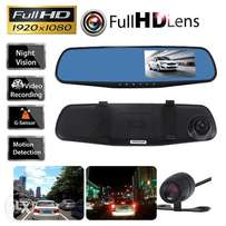 1080PCar Rearview DVR Dual Dash Cam Camera Vehicle Front Rear HD Video