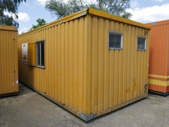 Ropa Container refectory  habitable container for sale by auction - 2019