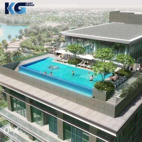 Apartments for sale in Dubai with pool and gym and terrace