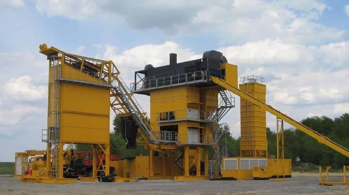 Lintec Csd 2500b Mobile Asphalt Plant * 160 To. * - 2019