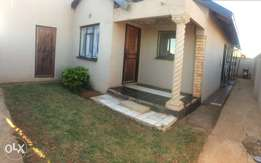 3 bedroom house offer to rent in Protea Glen ext 12