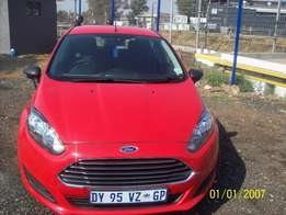 ford fiesta ecoboost 1.0, 2015 Model,5 Doors factory A/C And C/D Play
