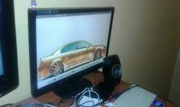 P View LCD PC Monitor 19 inch