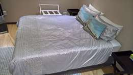 Restonic Queen Bed and base, Extra length