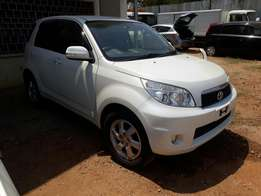 Toyota Rush 20110 4WD optional low mileage KCM new arrival showroom