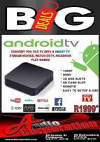 Android TV, wifi FREE streaming