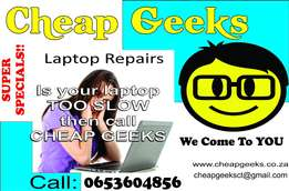 Cheap Geeks - Quick - Affordable - IT Solutions, Cape Town