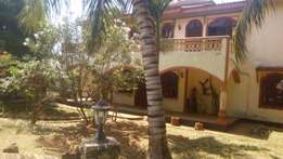 Executive four bed roomed house with swimming pool On Sale at Mtwapa